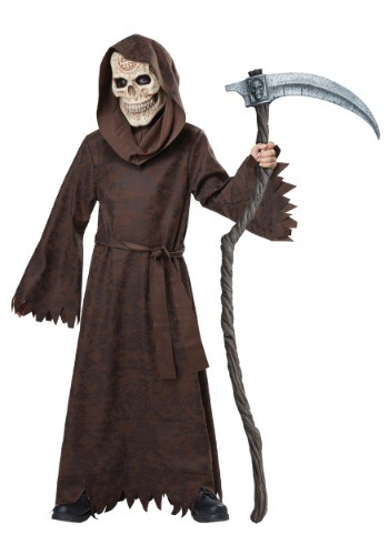 Click Here to buy Kids Ancient Reaper Costume from HalloweenCostumes, CDN Funds & Shipping
