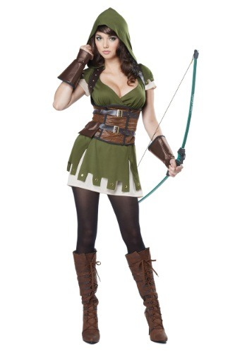 Womens Miss Robin Hood Costume