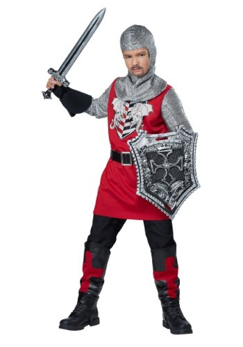 Brave Knight Boys Costume