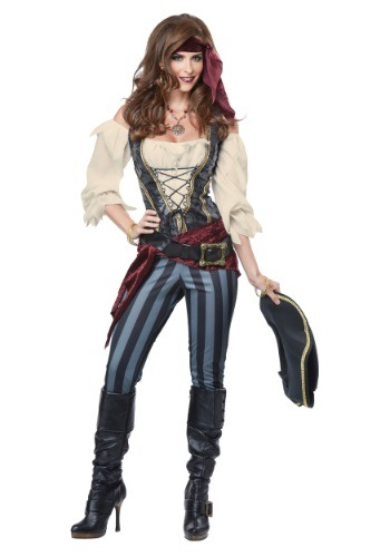 Womens Adult Brazen Buccaneer Costume