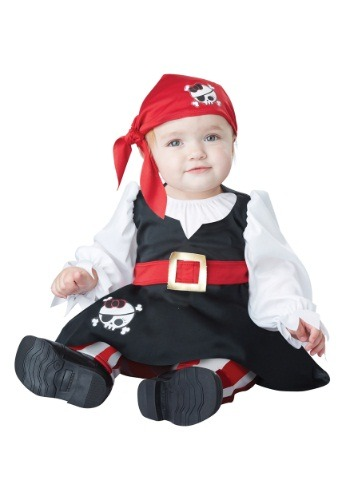 Click Here to buy Petite Pirate Baby Costume from HalloweenCostumes, CDN Funds & Shipping