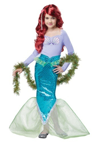 Click Here to buy Kids Magical Mermaid Costume from HalloweenCostumes, CDN Funds & Shipping