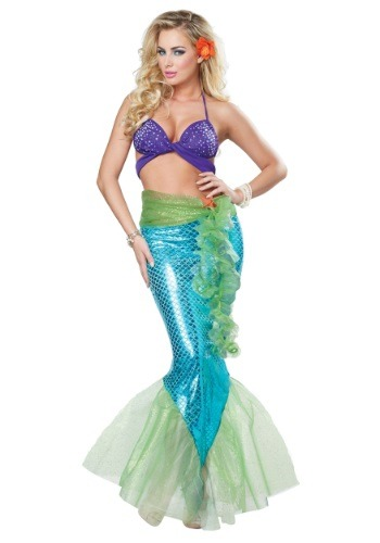 Womens Adult Mythic Mermaid Costume