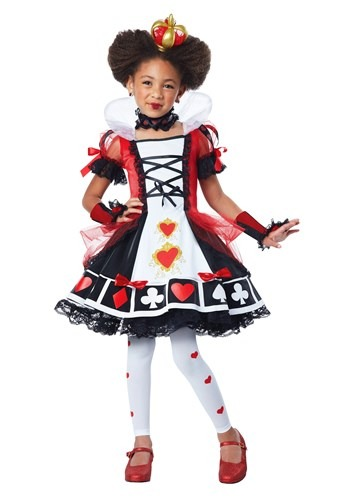 Child Deluxe Queen of Hearts Costume