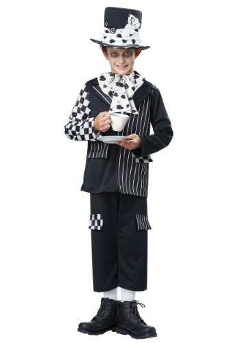 Click Here to buy Kids Dark Mad Hatter Costume from HalloweenCostumes, CDN Funds & Shipping