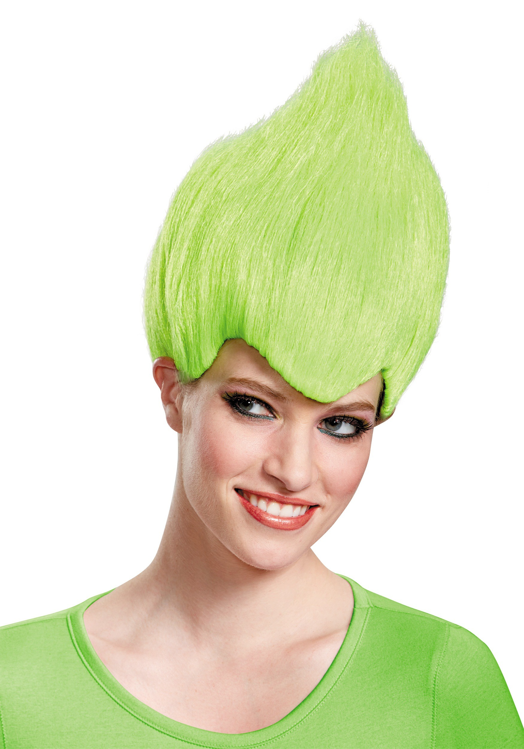 INOpets.com Anything for Pets Parents & Their Pets Green Wacky Adult Wig