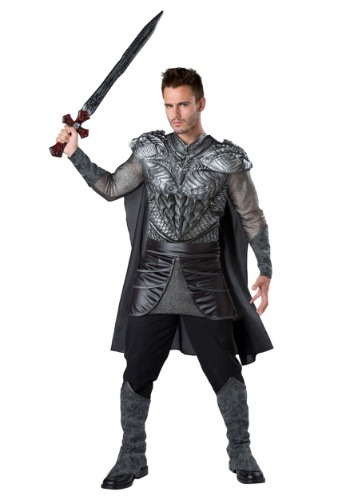 Click Here to buy Dark Medieval Knight Costume from HalloweenCostumes, CDN Funds & Shipping
