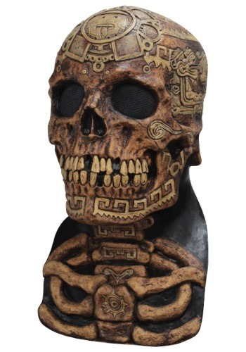 Click Here to buy Aztec Skull Mask from HalloweenCostumes, CDN Funds & Shipping