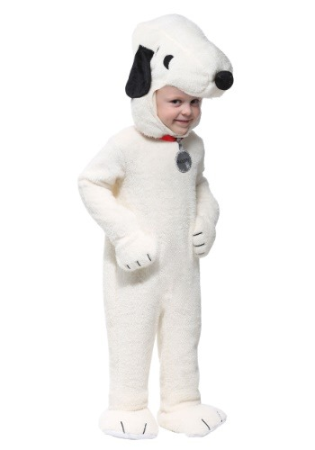 Click Here to buy Snoopy Super Deluxe Costume for Toddlers from HalloweenCostumes, CDN Funds & Shipping