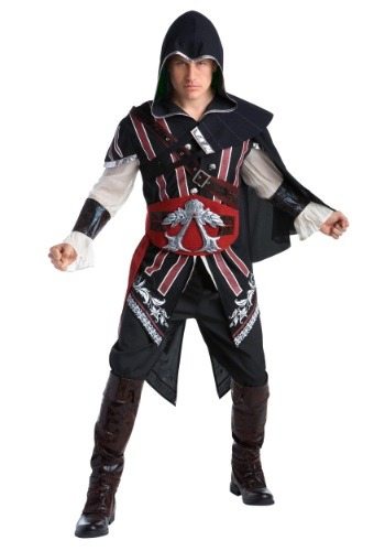 Click Here to buy Assassins Creed: Ezio Deluxe Adult Costume from HalloweenCostumes, CDN Funds & Shipping