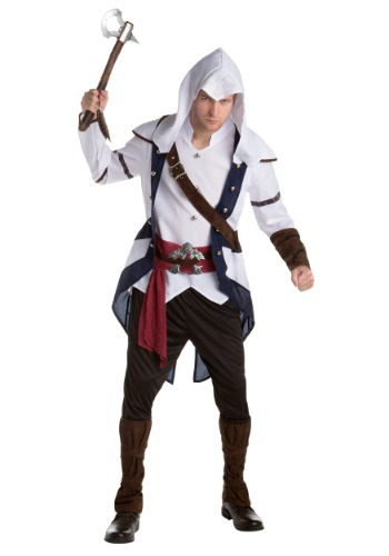 Click Here to buy Assassins Creed: Connor Classic Adult Costume from HalloweenCostumes, CDN Funds & Shipping