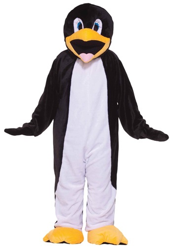Click Here to buy Deluxe Mascot Penguin Costume from HalloweenCostumes, CDN Funds & Shipping