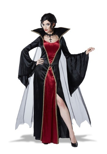 Click Here to buy Womens Classic Vampire Costume from HalloweenCostumes, CDN Funds & Shipping