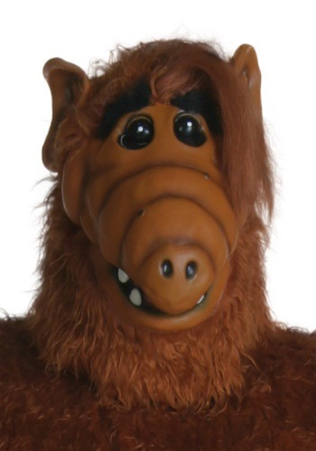 Click Here to buy Adult Overhead ALF Mask from HalloweenCostumes, CDN Funds & Shipping