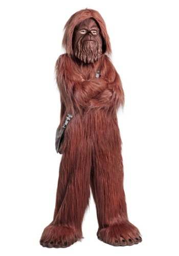 Click Here to buy Deluxe Star Wars Chewbacca Kids Costume from HalloweenCostumes, CDN Funds & Shipping