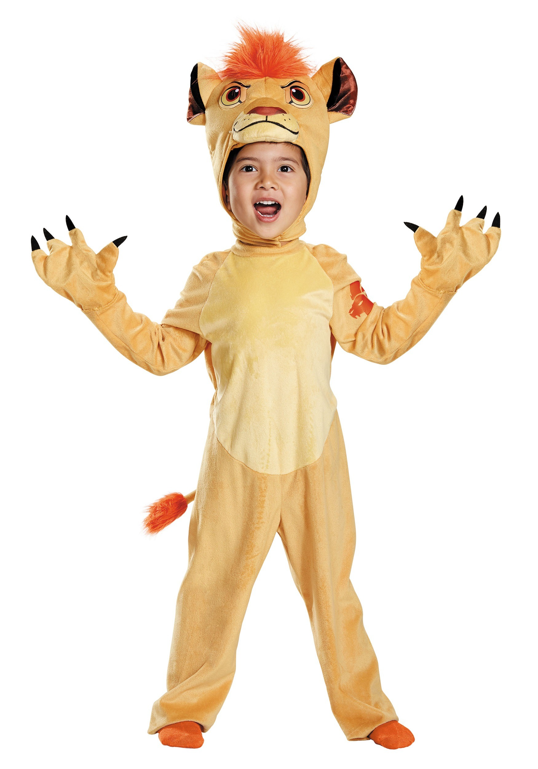 Toddler Deluxe Lion Guard Kion Costume
