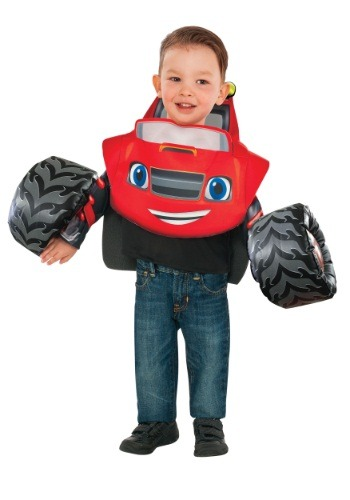 Click Here to buy Blaze and the Monster Machines Costume for Toddlers from HalloweenCostumes, CDN Funds & Shipping