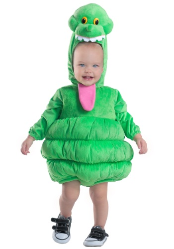 Click Here to buy Kids Deluxe Slimer Costume from HalloweenCostumes, CDN Funds & Shipping