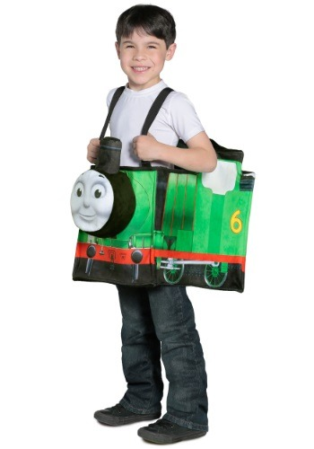 Click Here to buy Percy Ride in Train Thomas the Train Costume from HalloweenCostumes, CDN Funds & Shipping