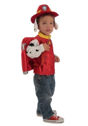 Click Here to buy Deluxe Paw Patrol Marshall Costume from HalloweenCostumes, CDN Funds & Shipping