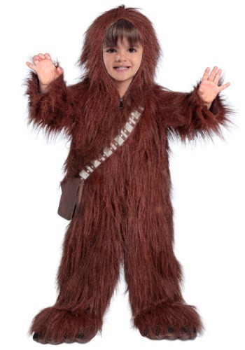 Click Here to buy Toddler Deluxe Chewbacca Costume from HalloweenCostumes, CDN Funds & Shipping