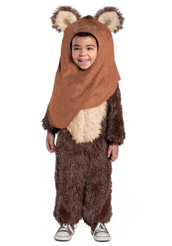 Click Here to buy Toddler Deluxe Wicket / Ewok Costume from HalloweenCostumes, CDN Funds & Shipping