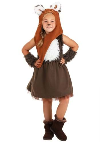 Click Here to buy Girls Wicket Dress Star Wars Costume from HalloweenCostumes, CDN Funds & Shipping
