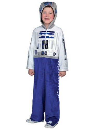 Click Here to buy Kids Deluxe R2D2 Costume from HalloweenCostumes, CDN Funds & Shipping