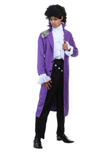 Purple Rock Legend Costume for Men | Pop Culture Halloween Costumes