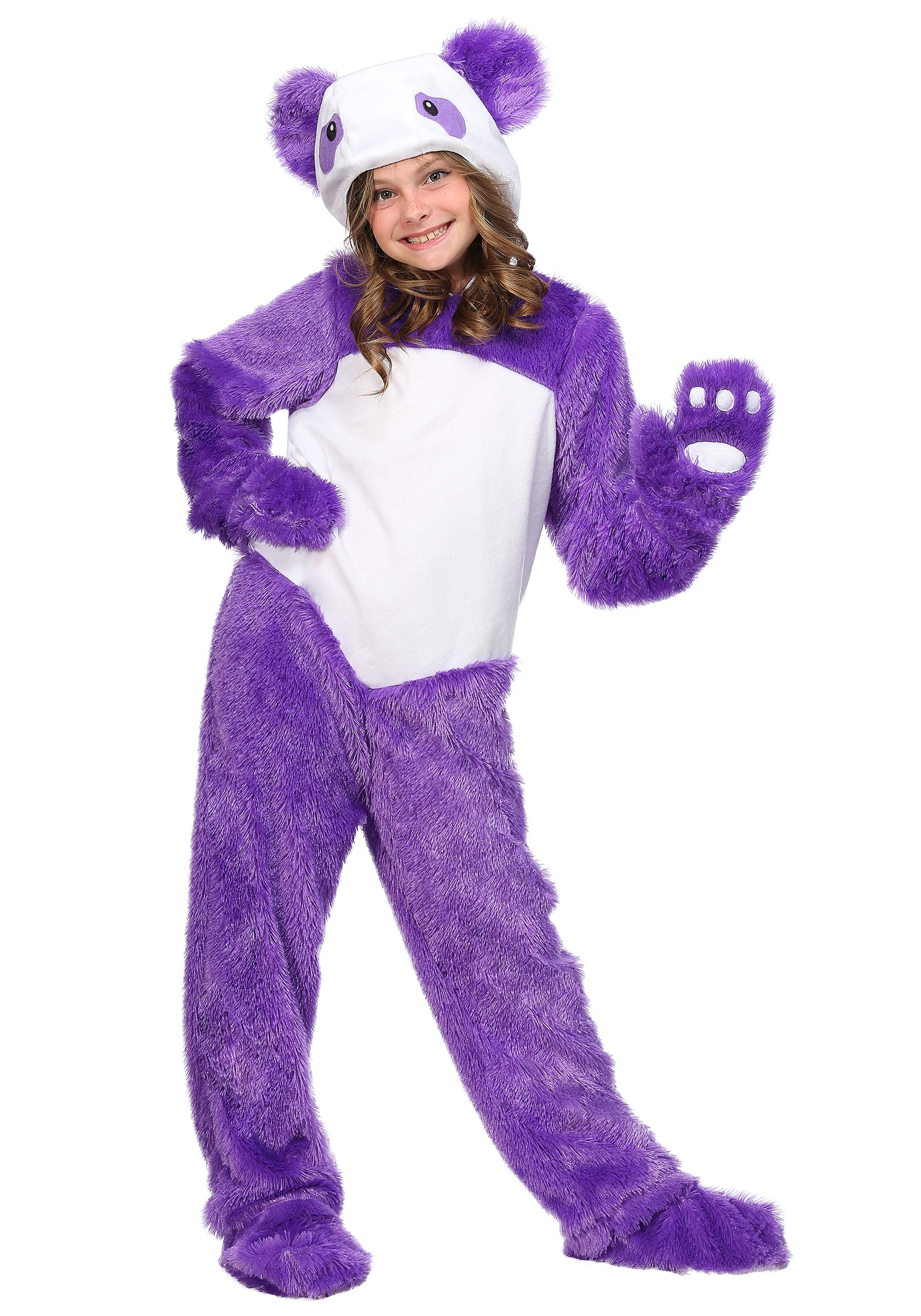 Panda Costume Purple Panda Costume