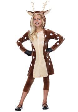 Girls Fawn Costume