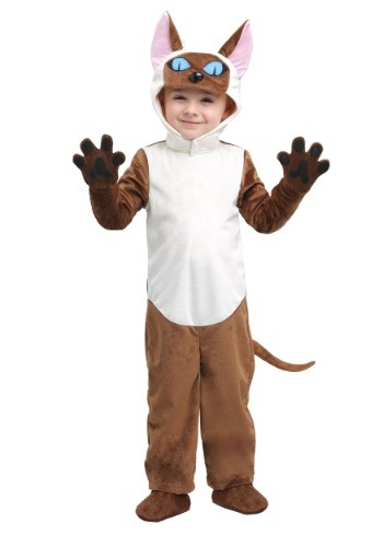 Siamese Cat Costume for Toddlers