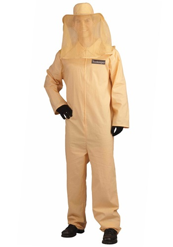 Click Here to buy Adult Bee Keeper Costume from HalloweenCostumes, CDN Funds & Shipping