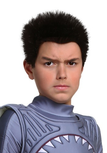Click Here to buy Sharkboy Wig for Kids from HalloweenCostumes, CDN Funds & Shipping