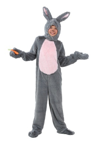 Grey Bunny Kids Costume