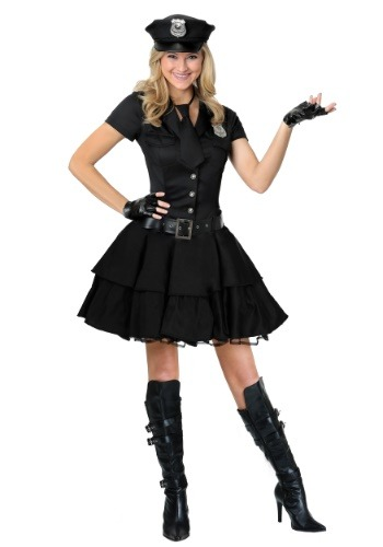 Womens Playful Police Costume
