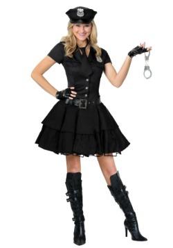Plus Size Playful Police Costume