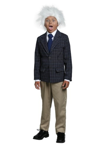 Einstein Costume for Boys