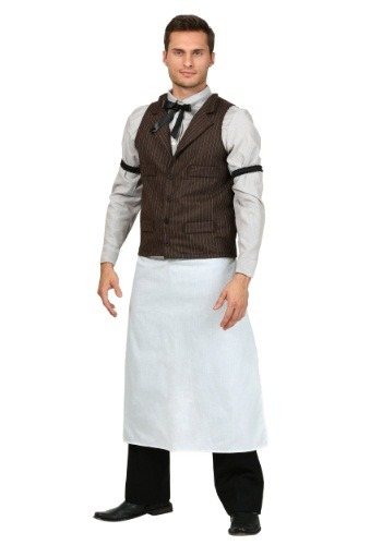 Click Here to buy Plus Size Old West Bartender Costume from HalloweenCostumes, CDN Funds & Shipping