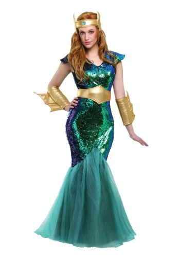 Click Here to buy Sea Siren Womens Costume from HalloweenCostumes, CDN Funds & Shipping