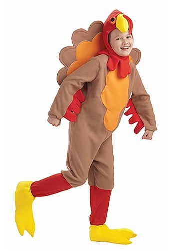 Click Here to buy Kids Turkey Costume from HalloweenCostumes, CDN Funds & Shipping