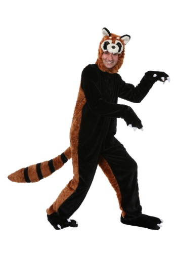 Click Here to buy Red Panda Costume for Adults from HalloweenCostumes, CDN Funds & Shipping