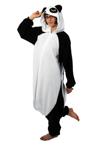 Click Here to buy Costume Panda Kigurumi from HalloweenCostumes, CDN Funds & Shipping