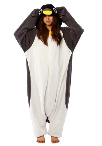 Click Here to buy Costume Penguin Kigurumi from HalloweenCostumes, CDN Funds & Shipping