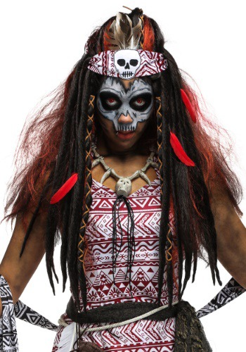 Voodoo Witch Wig for Women