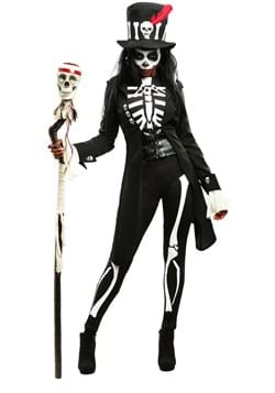Voodoo Skeleton Women's Costume