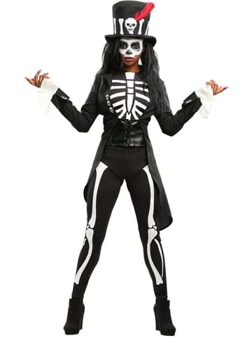 Click Here to buy Voodoo Skeleton Womens Costume from HalloweenCostumes, CDN Funds & Shipping