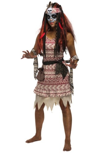 Click Here to buy Voodoo Witch Womens Costume from HalloweenCostumes, CDN Funds & Shipping