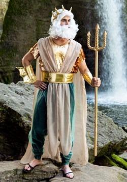 Poseidon Plus Size Men's Costume