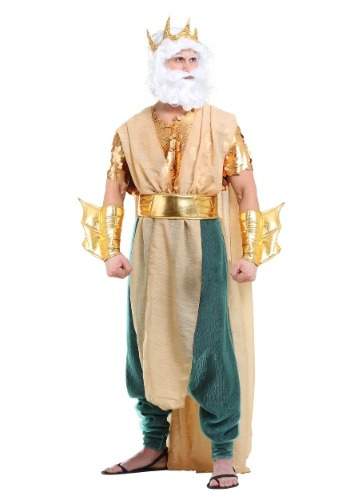 Poseidon Costume for Plus Size Men